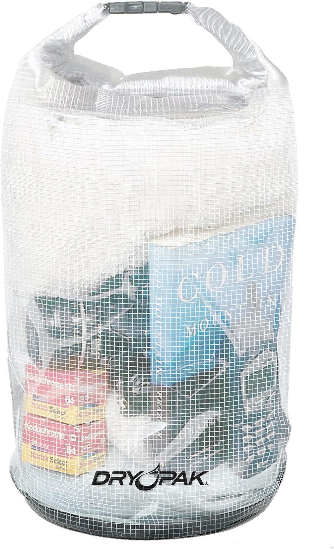 "DRY PAK Roll Top Dry Gear Bag, 11.5"" x 19, Clear"