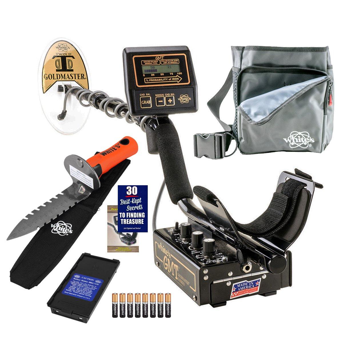 Detector de metales Whites GMT excavadoras especial con digmaster y bolsa de utilidad: Amazon.es: Jardín