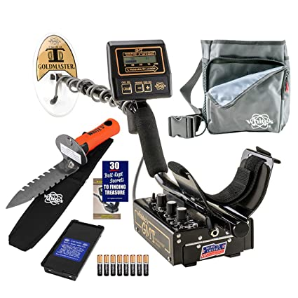 Amazon.com : Whites GMT Metal Detector Diggers Special with DigMaster & Utility Pouch : Garden & Outdoor