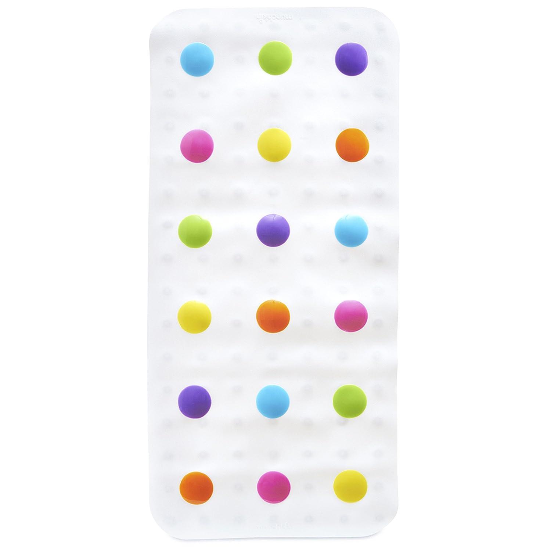 Munchkin Dandy Dots Bath Mat, White 012194AMZ