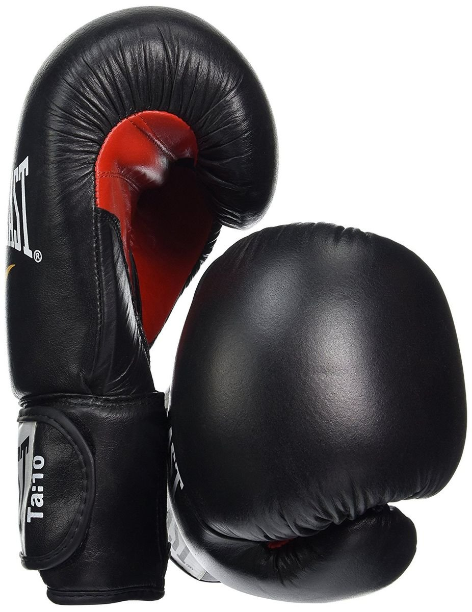 Navy//gr/ün Echt Leder f/ür Sparring Training Boxen Kampfsport usw. Boxhandschuhe Powerlock