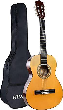 HUAWIND Classical Guitar 3/4 Size Acoustic Guitar