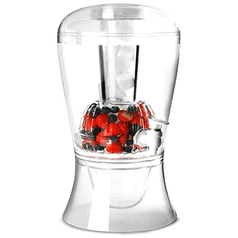 Dispensador de bebidas con núcleo de hielo 8 litros de capacidad de jugo dispensador de bebidas