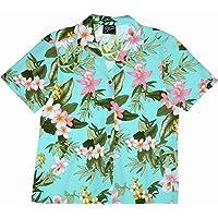 RJC Women XS to XXL Orchid Plumeria Camp Shirt