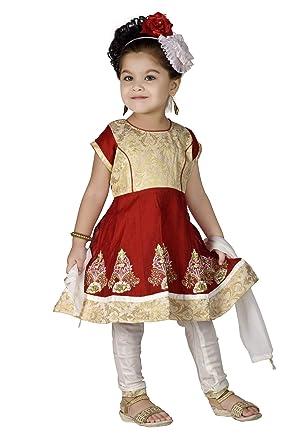 Baby Girl Frock Suit Indian Style in European Sizes New Born Infant Salwar Anarkali Churidar Maxi