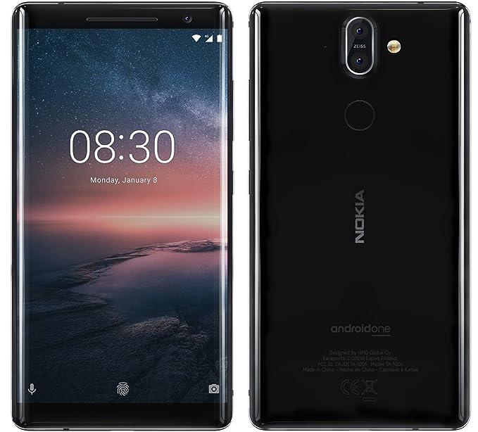 ac69557eb7c Amazon.com  Nokia 8 Sirocco TA-1005 Single Sim - 128GB 6GB - Android ...