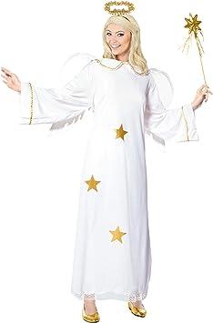 WIDMANN Widman - Disfraz de ángel para mujer, talla S (35111 ...
