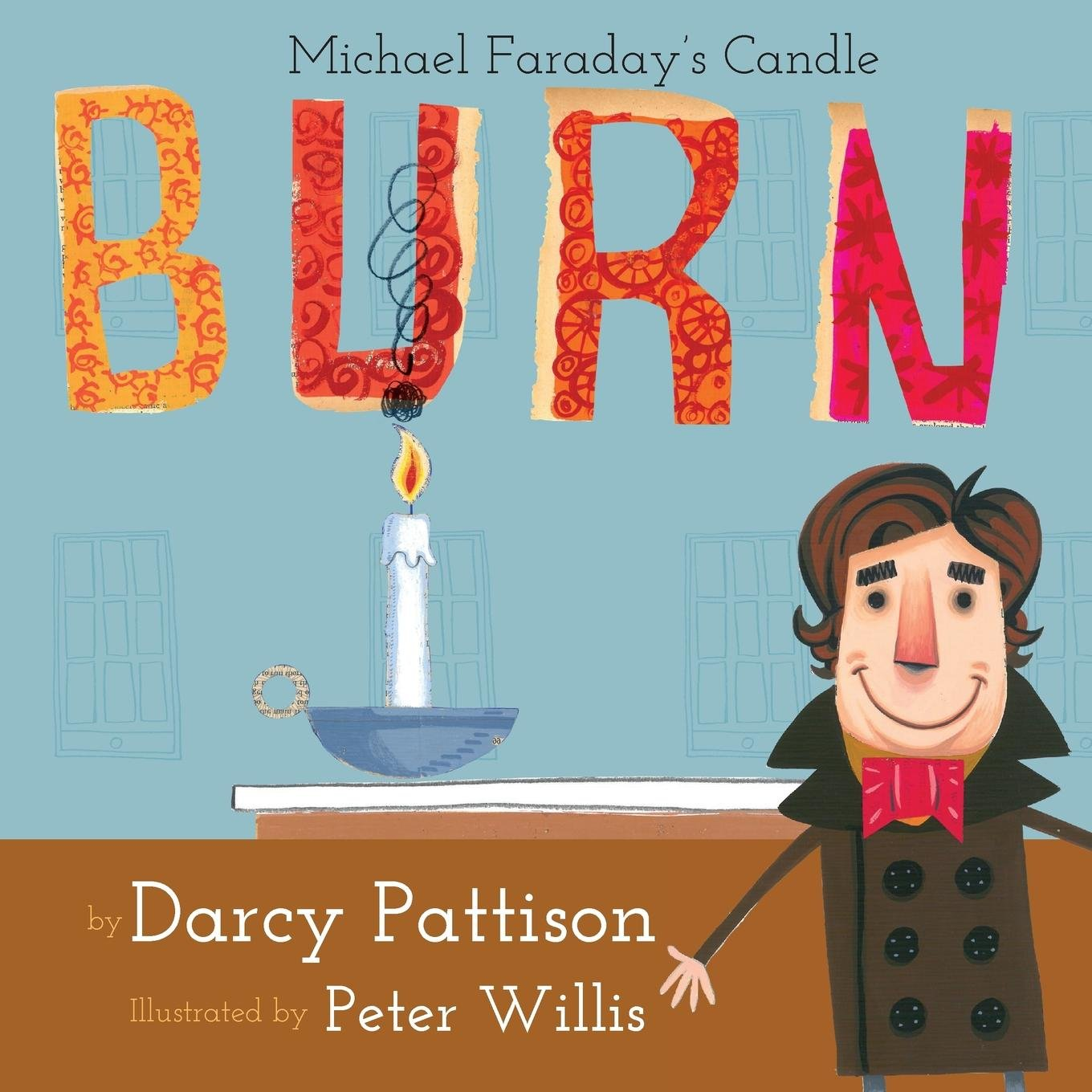 Burn Michael Faradays Darcy Pattison product image