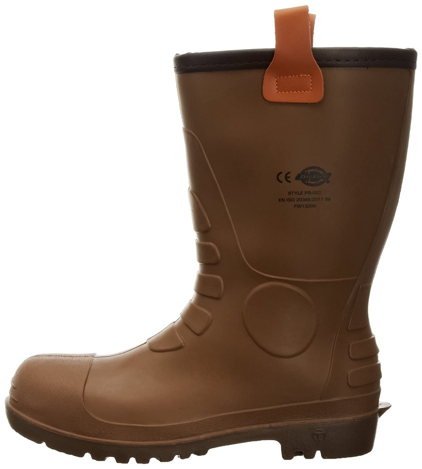 e4764f1387b4bd Dickies Groundwater Super Safety, Bottes en caoutchouc homme, Marron  (Brown), 40 EU ( 6 UK): Amazon.fr: Commerce, Industrie & Science