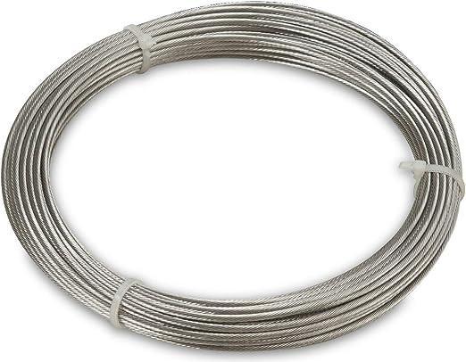 Windhager Cable de Acero Inoxidable Montaje y tensado de toldos y ...