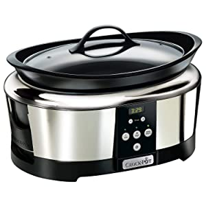 Crockpot SCCPBPP605 Next Generation Slow Cooker, 5.7 L, Silver (220 Volts - Not for USA)