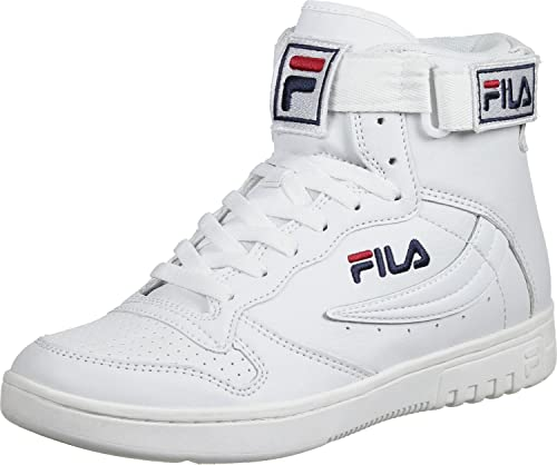 Fila - Fx-100 Mid - Zapatillas Altas - White: Amazon.es: Zapatos y complementos
