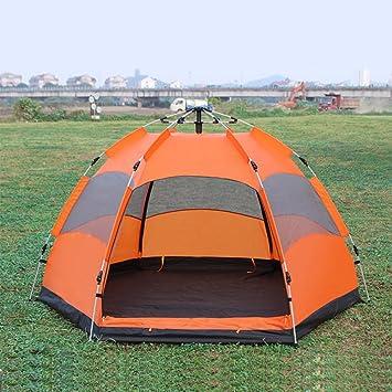 YUMAI Carpa automática/de Apertura rápida/de construcción Libre/de Acampada/de Playa/de Pesca/de Exterior/para Persona Doble Carpa turística de campaña: ...