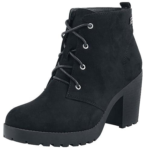 Refresh Mary Boot Botas Negro Buscando Mejor precio barato de venta JVAsB