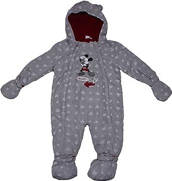 214a48a11686 Amazon.com  Mickey Mouse Disney Lets Go Boys Full Winter Baby Jacket ...