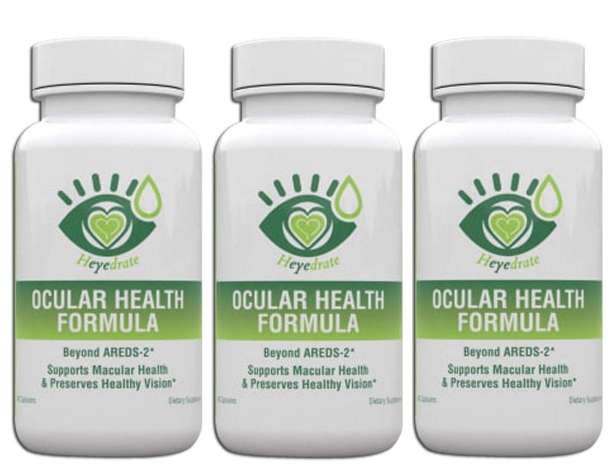 Ocular Health Formula by Eye Love, Areds 2 Formula, Packed with Lutein, Zeaxanthin, and Astaxanthin, Optometrist Developed for Complete Macula and Retina Support (3 Month Supply)