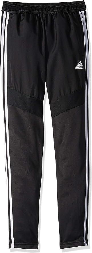 adidas Youth Tiro19 Youth Warm-up Pant, Black/White, Medium