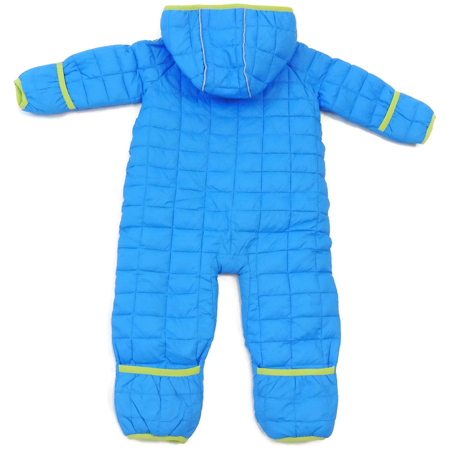 Snozu Infant and Toddler Fleece Lined Ultralight Quilting One Piece Snowsuit
