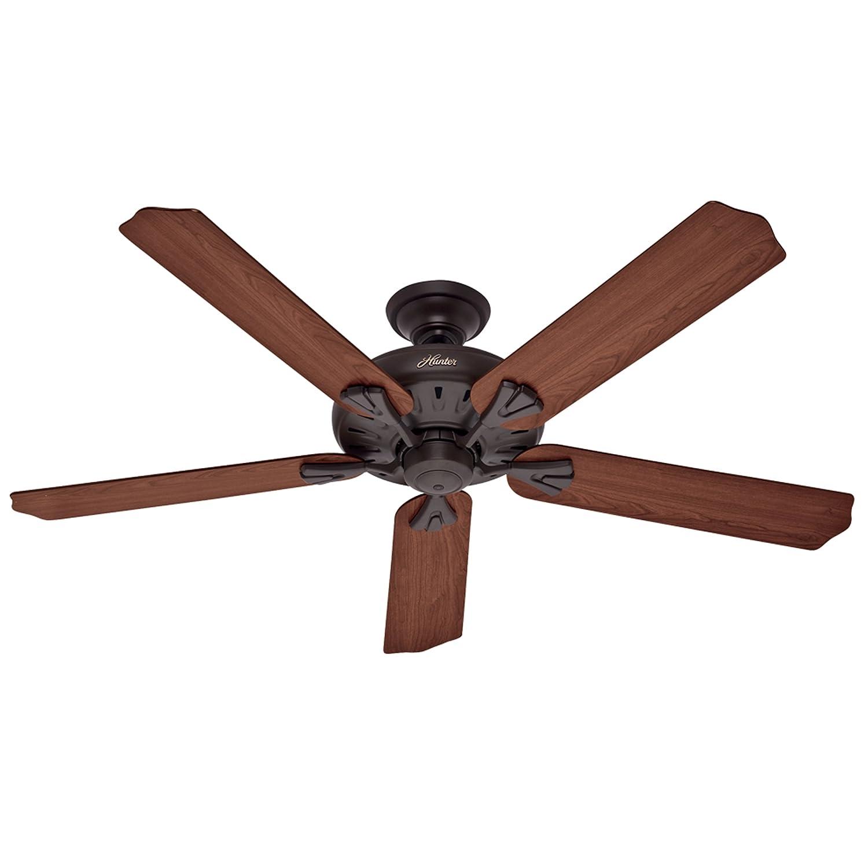 Hunter 60 Inch Royal Oak New Bronze Fan with Remote
