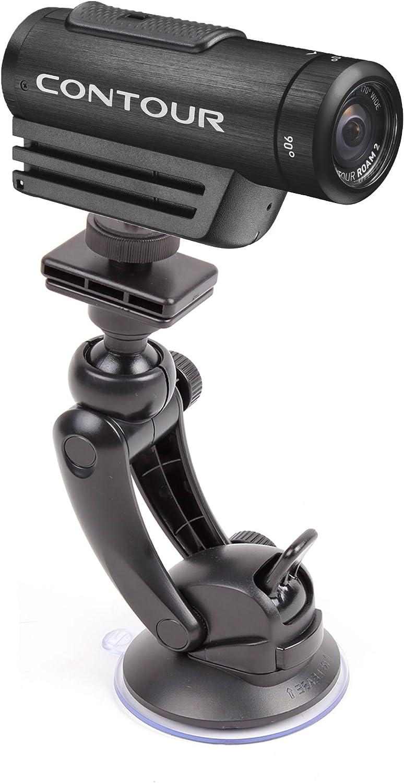 DURAGADGET Sturdy and Durable Anti-Shake Window Suction Mount Compatible with Contour Roam/Roam 2/+2 & GoPro HD Naked Hero/Helmet Hero