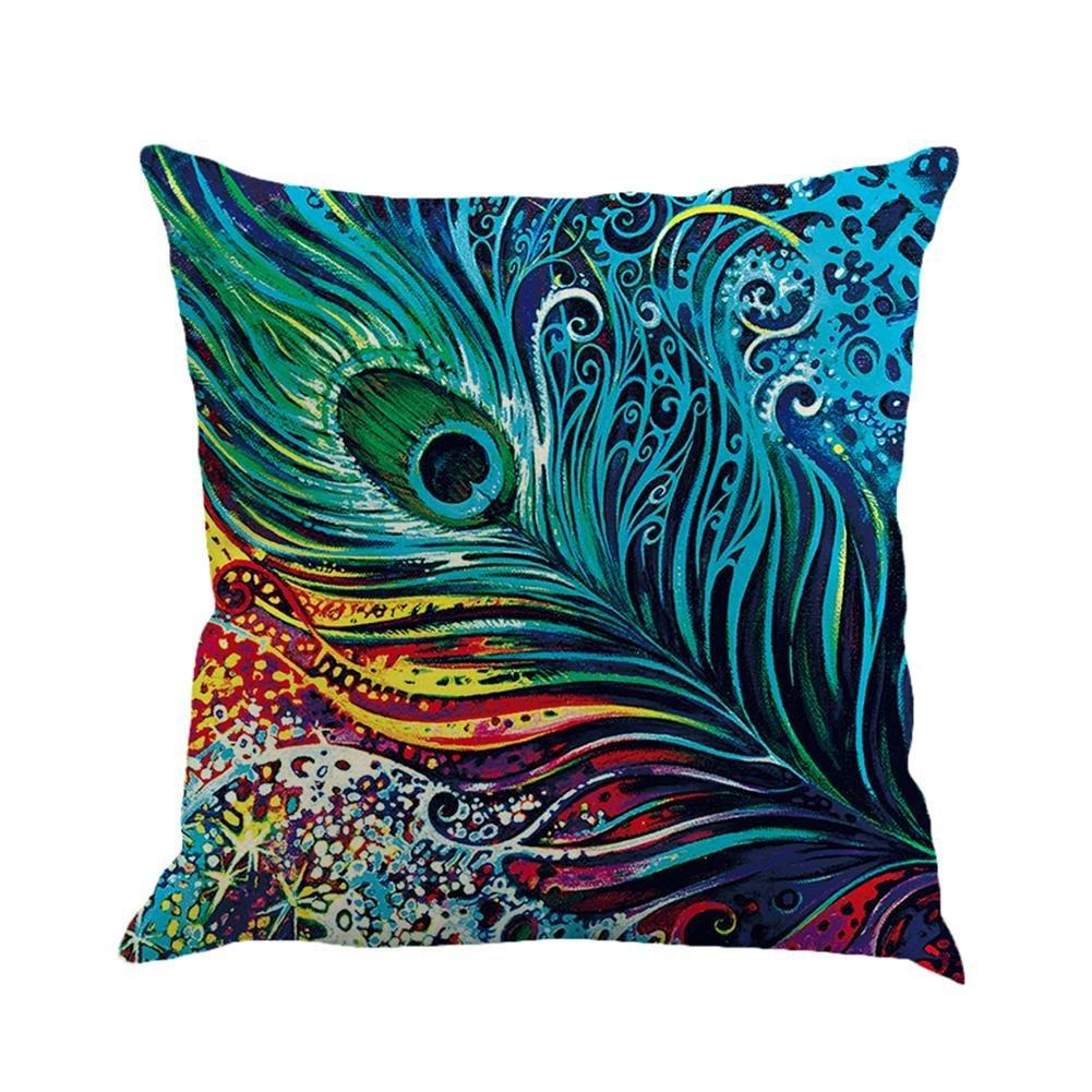 Trendyest piuma traspirante lino federa del cuscino copertura auto cuscino Home Decor E