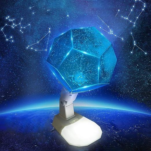 TYSYA 12 Constelación LED de luz del proyector Rotación Romántico ...