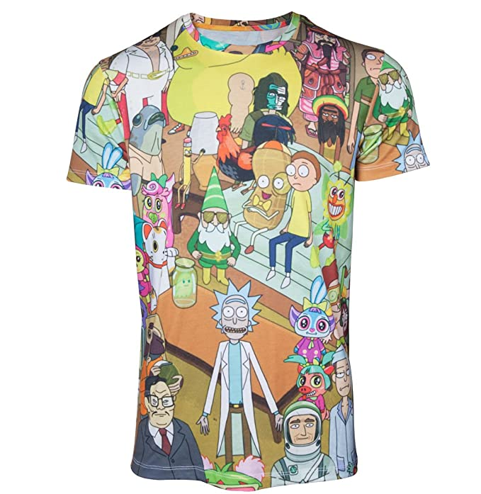 Tiny Rick Space Pocket Rick and Morty Fan TV Show Sweat Shirt Jumper  All Sizes
