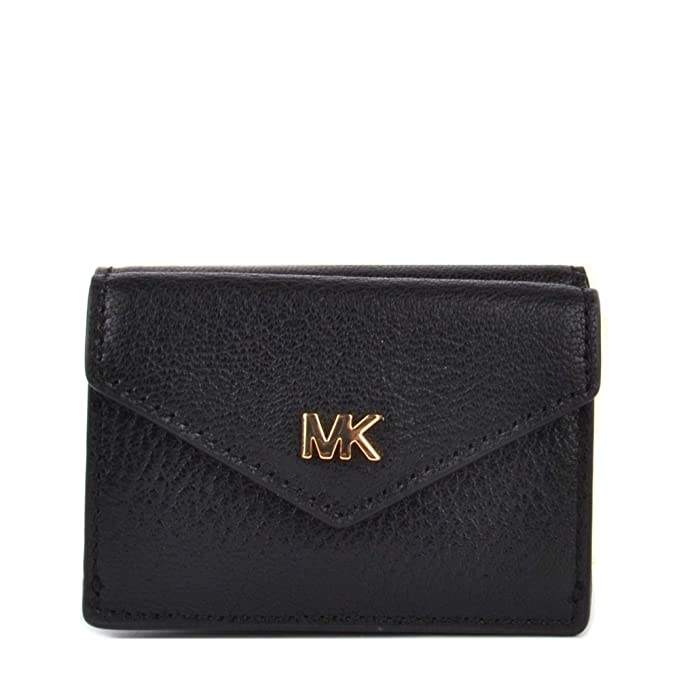 MICHAEL by Michael Kors Money Pieces Black Small Trifold