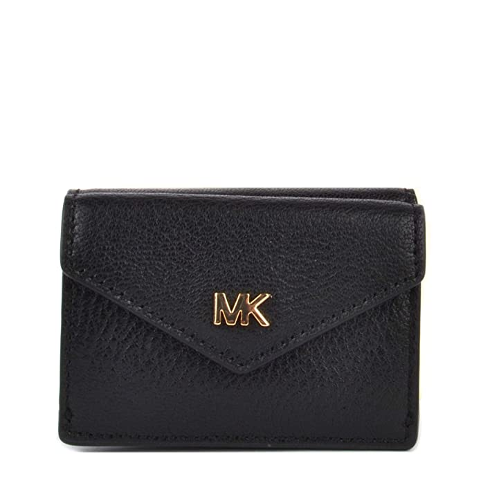 MICHAEL by Michael Kors Money Pieces Black Small Trifold ...