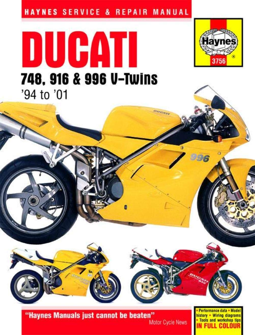 Ducati Wiring Diagram Service Manual