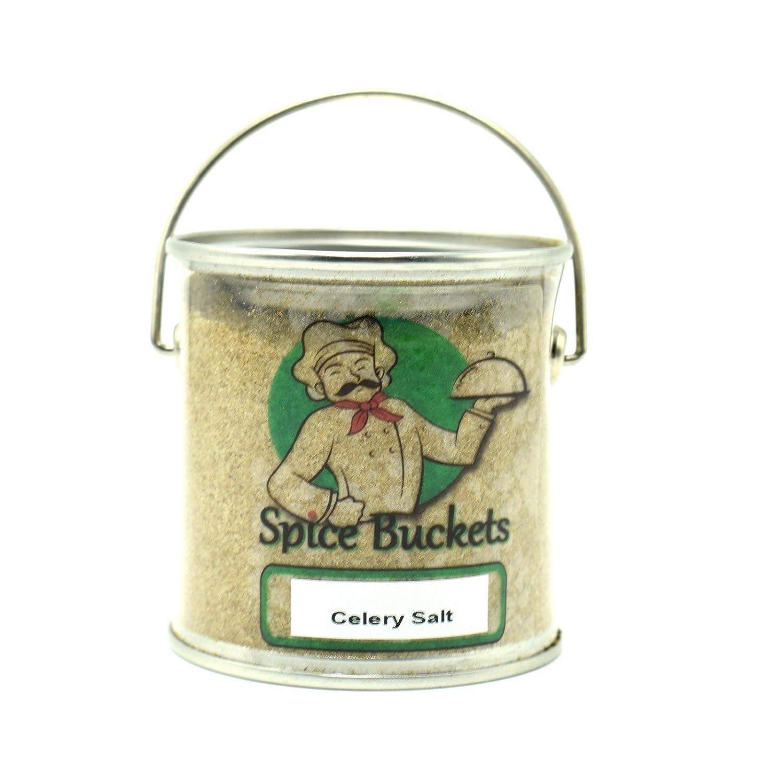 Celery Salt 144g in portaspezie secchio free UK post Spice Buckets