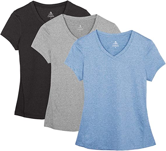 Amazon.com: icyzone Camisas de entrenamiento para yoga ...