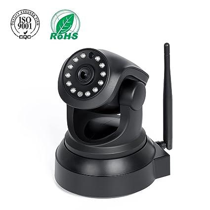 IP cámara, Elebor 720p WiFi camaras de Vigilancia inalámbrico HD Zoom con Detección de movimiento
