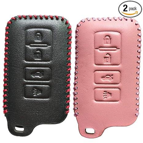 Amazon.com: Coolbestda - Funda de piel para llave de Toyota ...