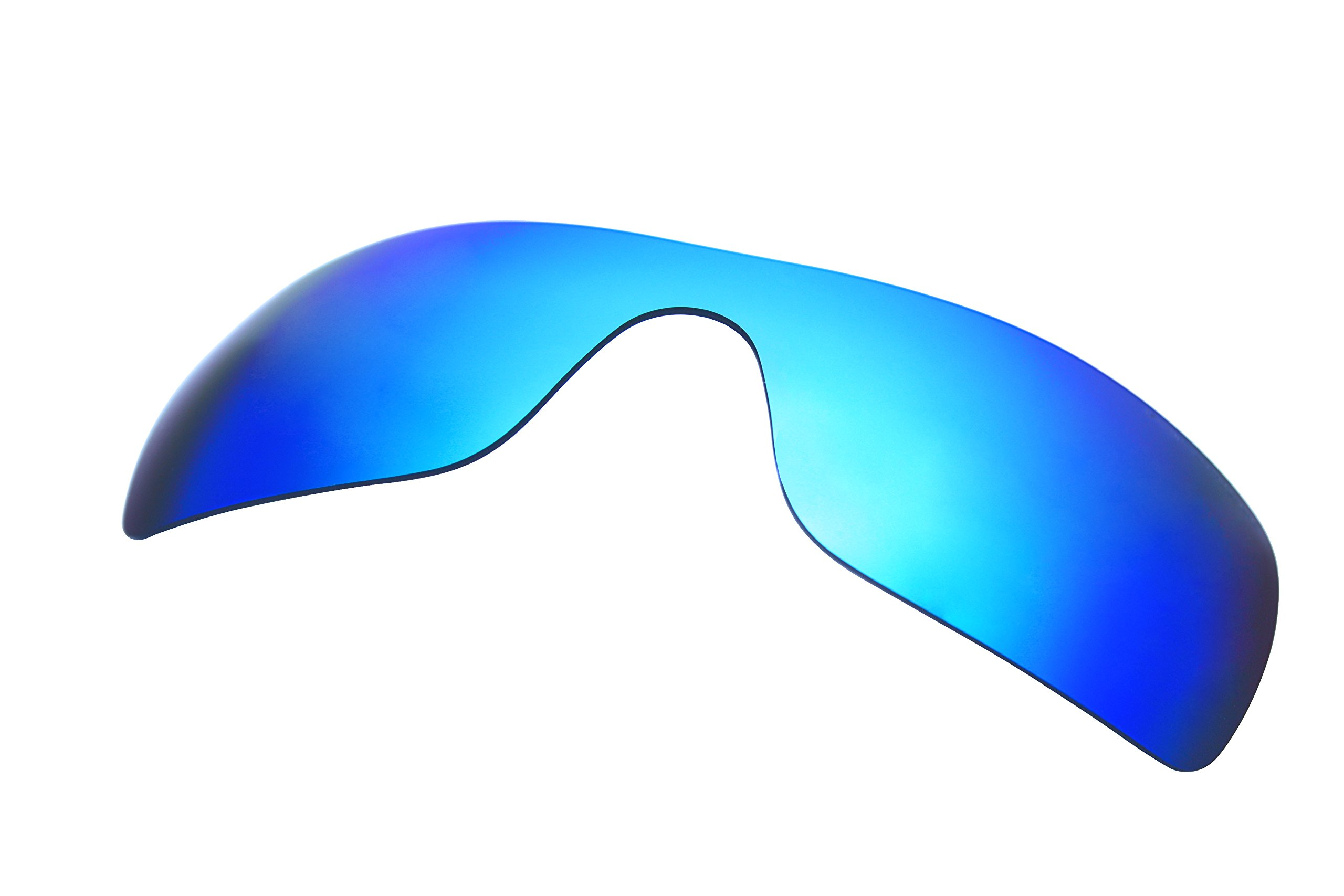 3 Pairs Polarized Replacement Sunglasses Lenses for Oakley Batwolf with UV Protection (Fire Red Mirror-Ice Blue Mirror-Titanium Mirror) by C.D (Image #3)