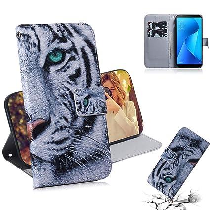 Amazon.com: WVYMX Zenfone Max Plus M1 ZB570KL Wallet Case ...