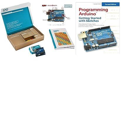 amazon com the official starter kit for arduino uno r3 advanced rh amazon com