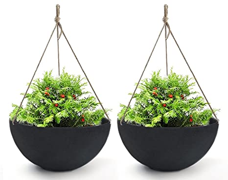 Amazon.com : Hanging Planters Large 2 Pack 13.2 Inch Indoor Outdoor on outdoor patios, outdoor chairs, outdoor lanterns, outdoor furniture, outdoor potted plants, outdoor gifts, outdoor pedestals, outdoor containers, outdoor jewelry, outdoor trellis, outdoor water features, outdoor books, outdoor shelves, outdoor wood walkways, outdoor tables, outdoor garden, outdoor shrubs, outdoor fountains, outdoor animals, outdoor benches,