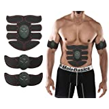 Abs Trainer Muscle Toner Belt EMS Training the Body Ultimate Abs Stimulator For Abdomen/Arm/Leg ; Workout Portable Home/Office Workout Equipment Support Men&Women