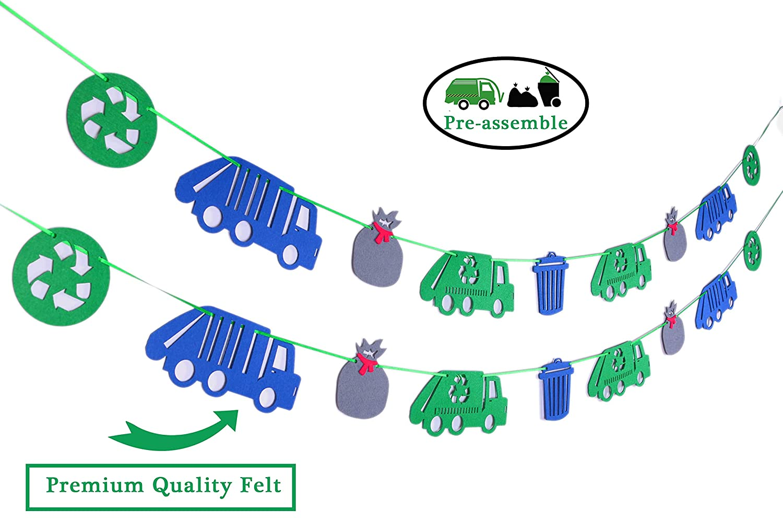Amazon.com: Garbage Truck Party Supplies, Garbage Trash ...