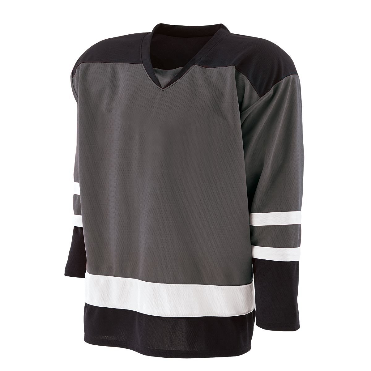 Holloway Faceoff Goalie Jersey GT/BK/WH 2XL 226600