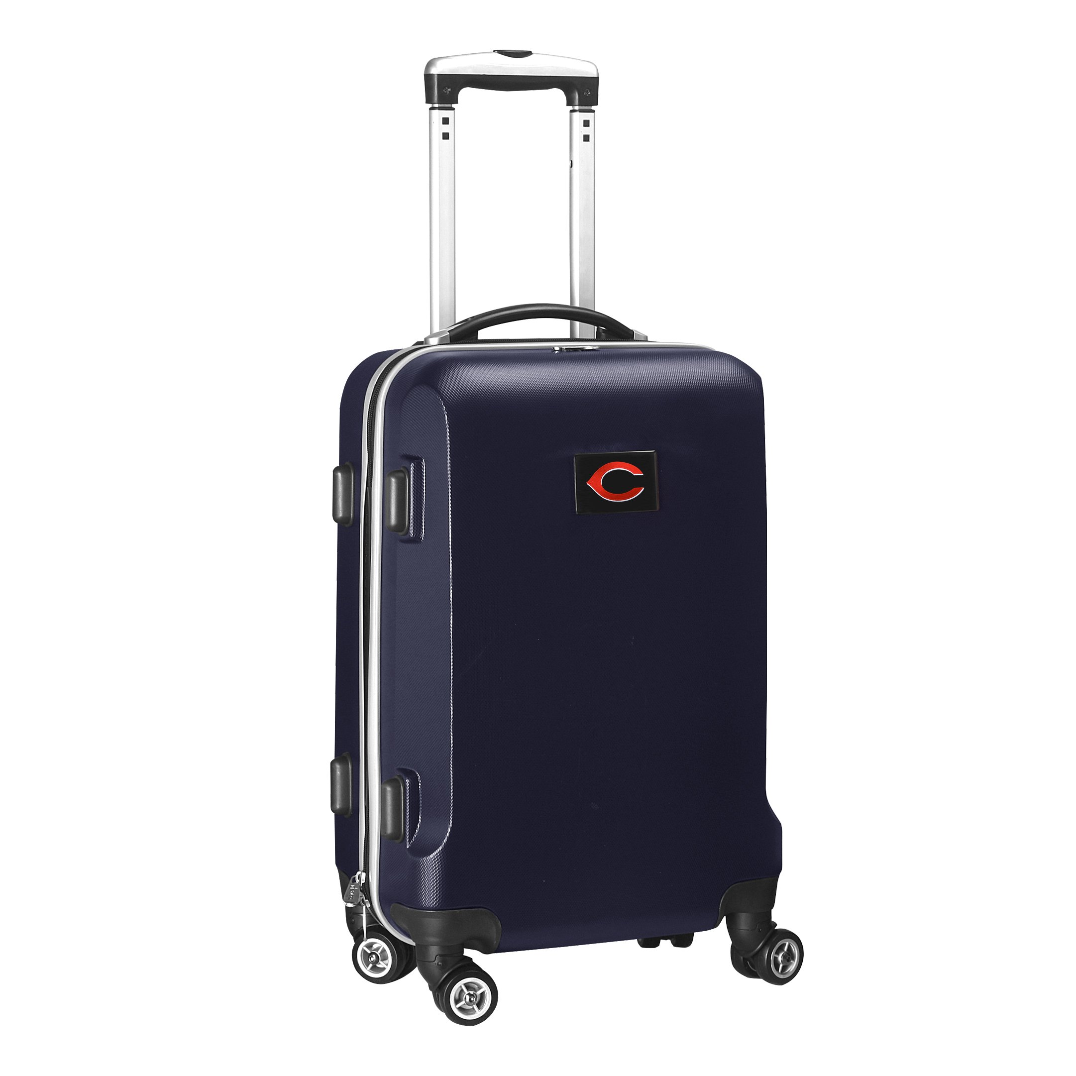 MLB Cincinnati Reds Carry-On Hardcase Spinner, Navy by Denco