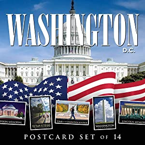 Ultimate Collection of Washington DC Postcards | Set of 14 | 4x6