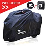 Motorcycle Cover For Moped Scooter - Waterproof Outdoor Bike Storage With
