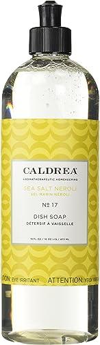 Caldrea Dish Soap, Sea Salt Neroli, 16 oz