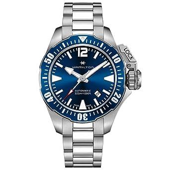 Men S Hamilton Navy Frogman Automatic Watch H77705145
