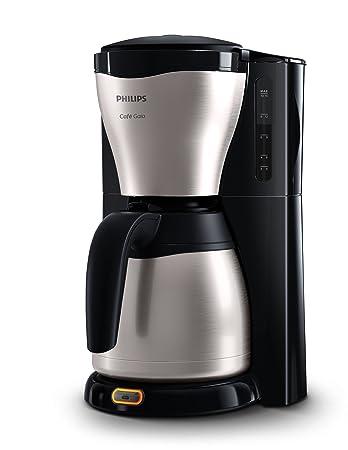 Great Philips HD7546/20 Gaia Filter Kaffeemaschine Mit Thermo Kanne,  Schwarz/metall Idea