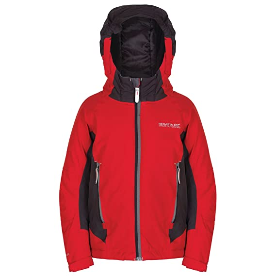 df9122f5f81b Regatta Aptitude Kids Jacket Waterproof Insulated  Regatta  Amazon ...