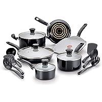 T-fal C921SG Initiatives Nonstick Ceramic Coating PTFE PFOA and Cadmium Free Scratch Resistant Dishwasher Safe Oven Safe…