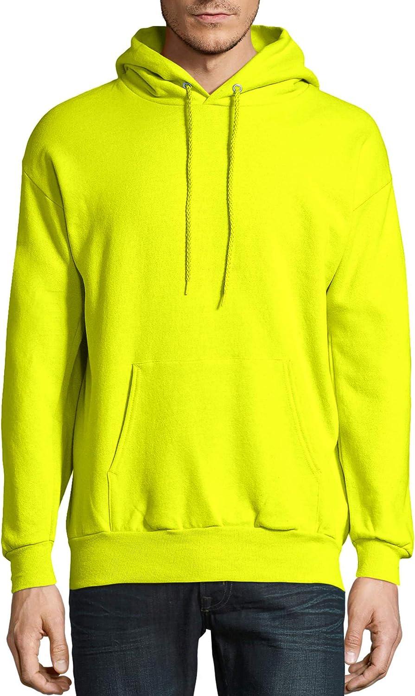 Hanes Mens EcoSmart Fleece Pullover Hoodie Sweatshirt